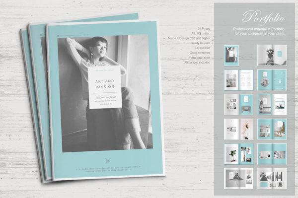 InDesign Portfolio template