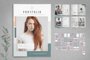 portfolio or album